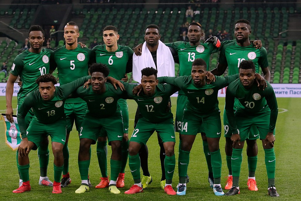 Nigeria soccer team 2018 World Cup