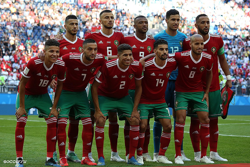 Morocco soccer World Cup