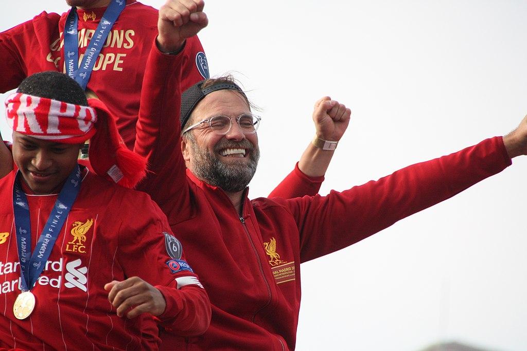 Jurgen Klopp Liverpool Premier League Title