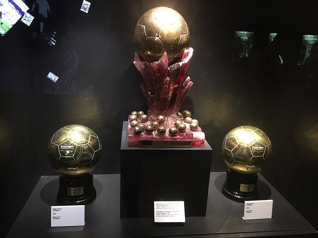 ballon d'or soccer award