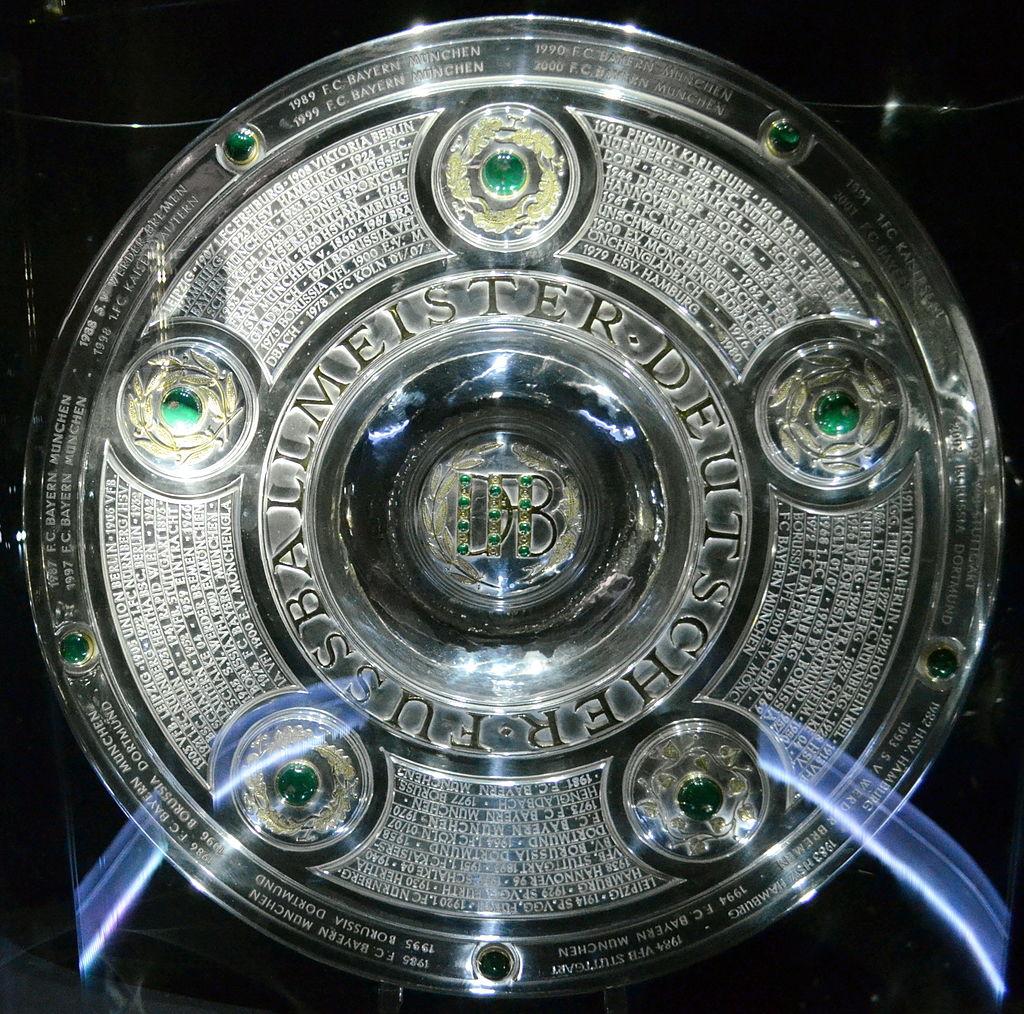 Bundesliga Trophy Borussia Dortmund Winner