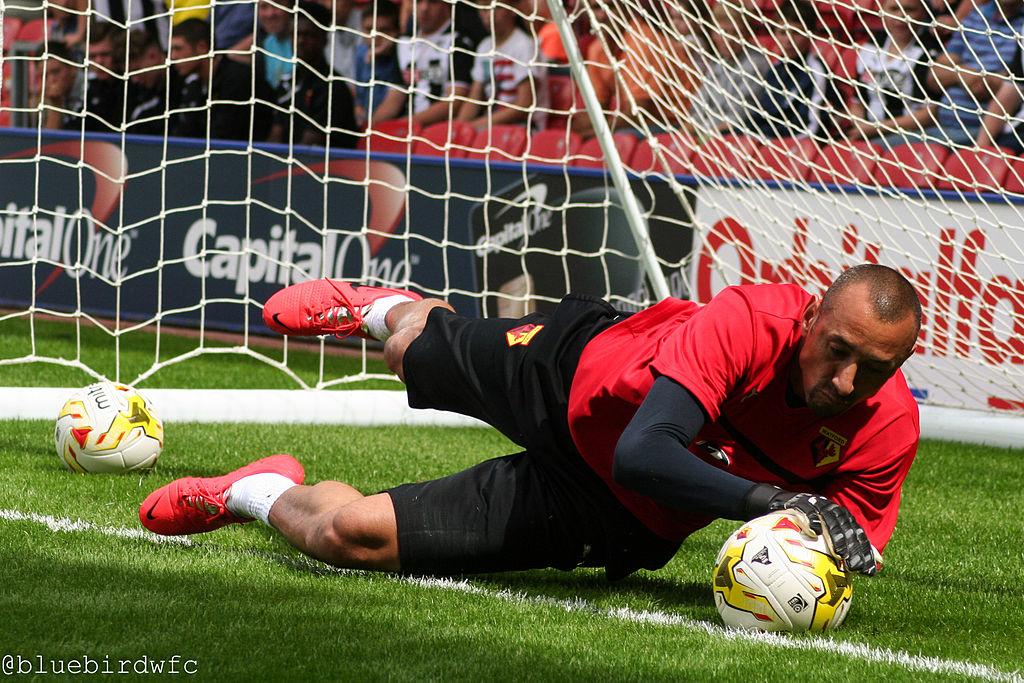 heurelho gomes Watford Premier League goalkeeper