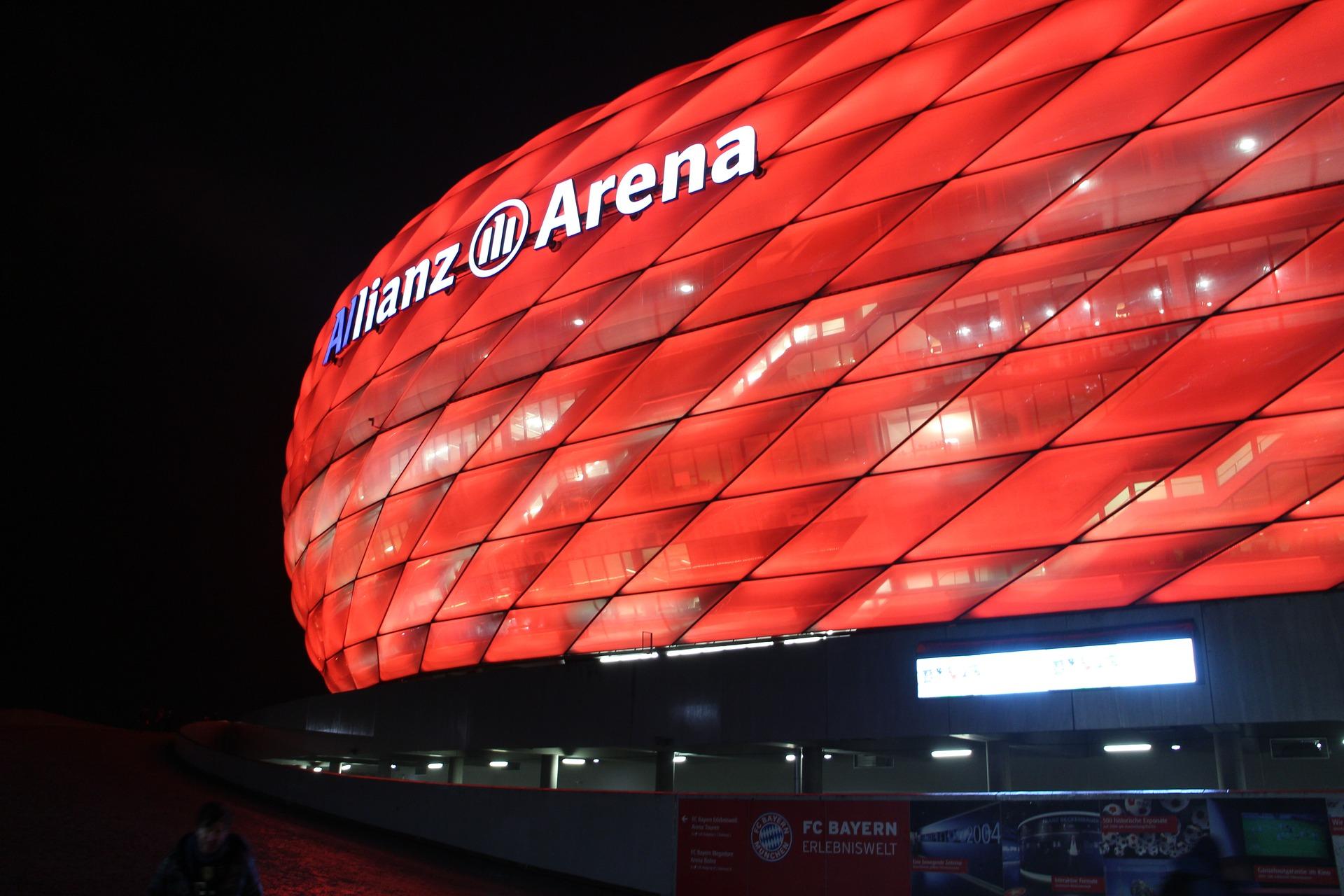 Bayern Munich soccer stadium