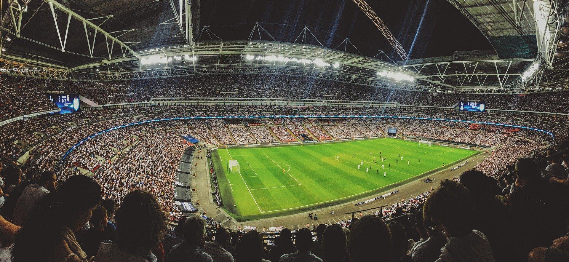 full soccer stadium