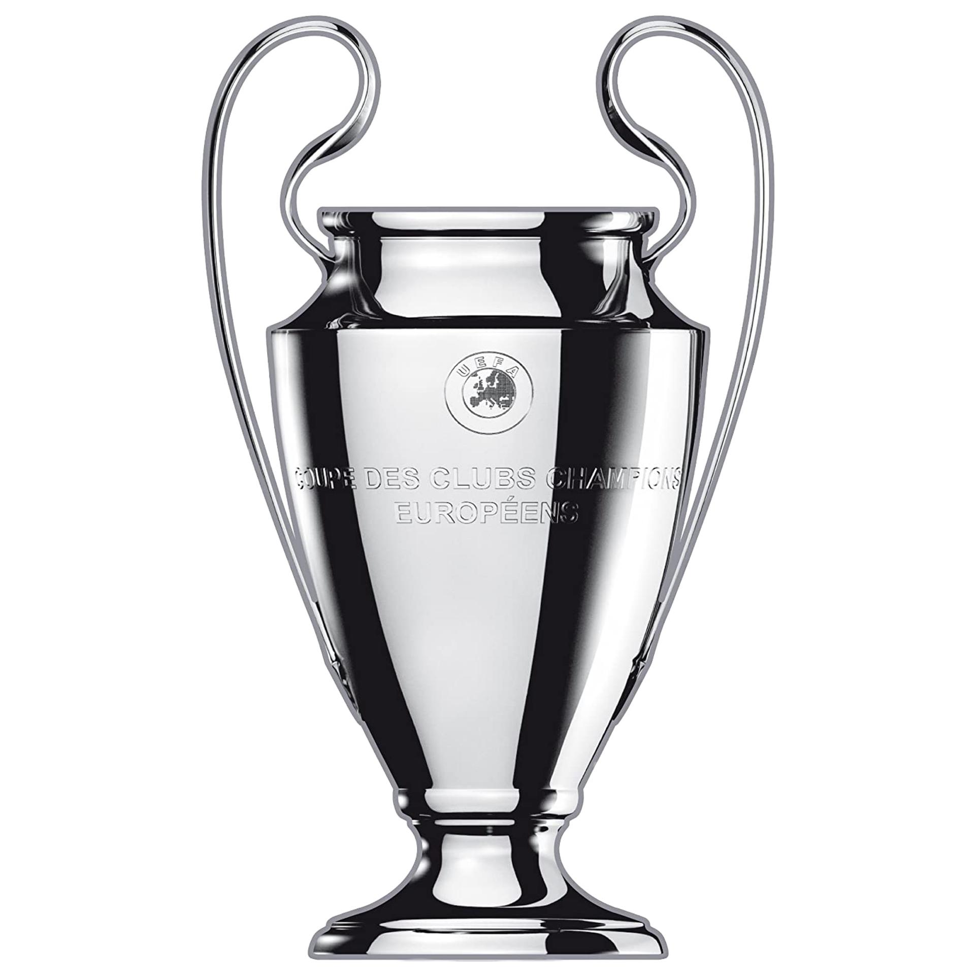 Champions league soccer trophy