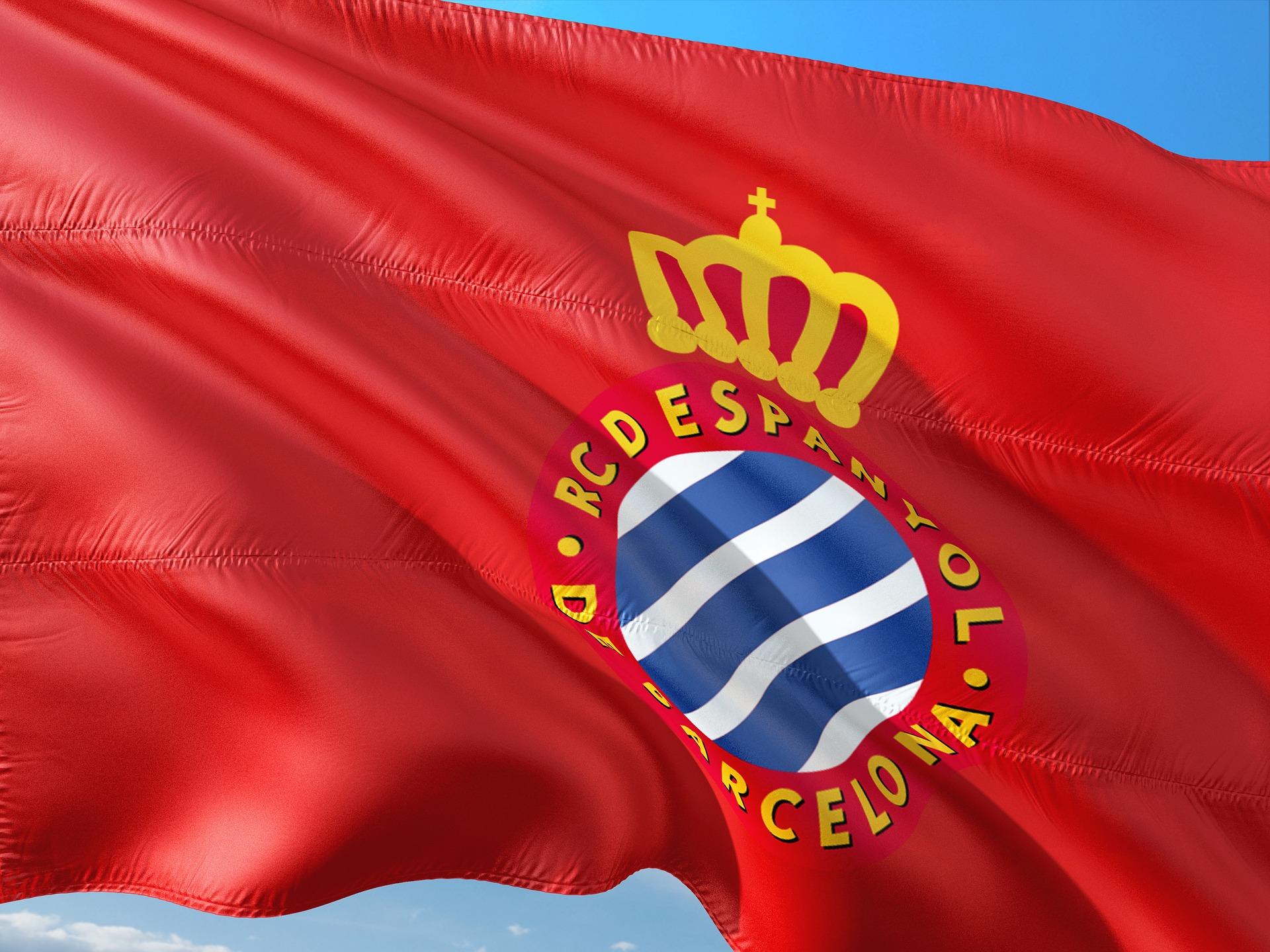 Espanyol soccer flag