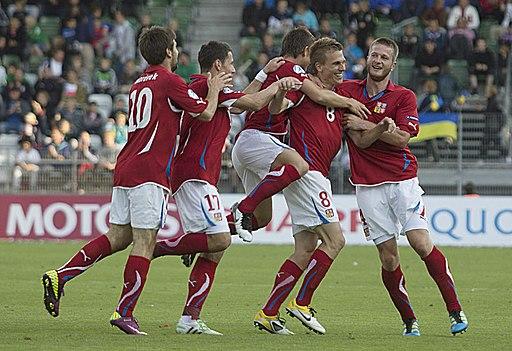 Czech soccer goal