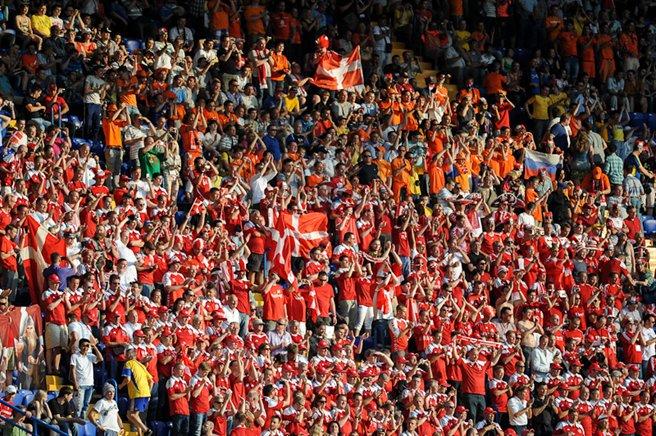 Danish football supporters