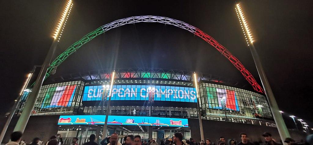 Italy at Wembley